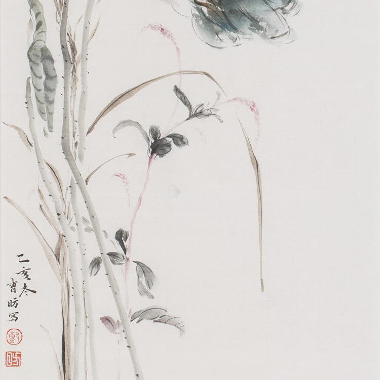 河南美术家协会会员、长城书画院院士【曹昉 精品花鸟】