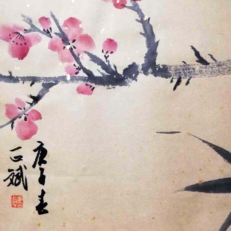 河北美术家协会会员、天津美院毕业【李正斌 精品花鸟】